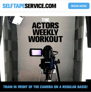 Self Tape Service - Actors Weekly Workout